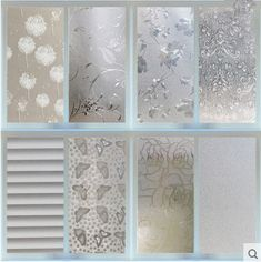 45 200CM Waterproof Frosted Privacy Bedroom Bathroom Window Glass Film Sticker. Pattern:Red Maple Leaf,Snowflake,Bamboo,Dandelion,Flower,Pure Frosted. This decorative window film providing style and privacy simultaneously. | eBay!