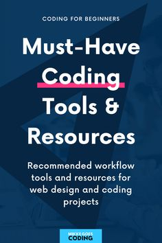 Check out these smart workflow tools for learning how to code, building coding projects and making websites, creating beautiful web design graphics, and launching your portfolio website fast. If you want to learn how to code and become a professional web developer, don't miss out on these resources! #mikkegoes