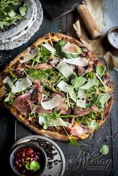 Pomysłowe Pieczenie: Pizza na soczewicowym spodzie
