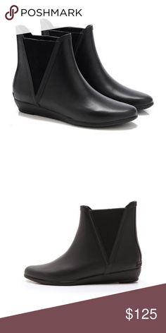 b568daf7b4c Shop Women s Loeffler Randall Black size 11 Winter   Rain Boots at a  discounted price at Poshmark.