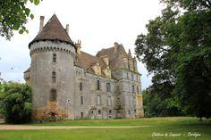 lanquais castle / france