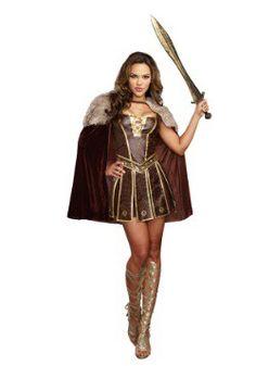 7a6c4860db Women s Victorious Beauty Gladiator Gladiator Halloween Costume