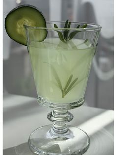 10 Delicious Non-Alcoholic Drink Recipes: Rosemary-Infused Cucumber Lemonade