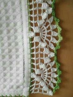 Super Crochet Patterns Stitches Granny S - Diy Crafts - Marecipe Crochet Boarders, Crochet Blanket Edging, Crochet Edging Patterns, Vintage Crochet Patterns, Crochet Lace Edging, Filet Crochet, Crochet Designs, Crochet Doilies, Crochet Stitches