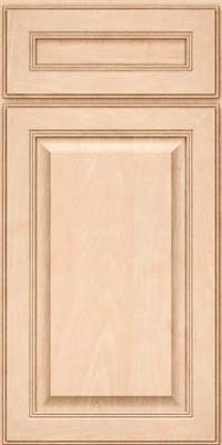 KraftMaid Cabinets -Square Raised Panel - Solid (LCM) Maple in Parchment from waybuild
