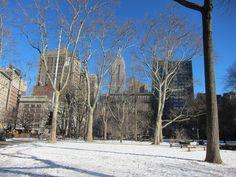 Madison Square Park, Winter 2011, NYC. Nueva York by voces, via Flickr