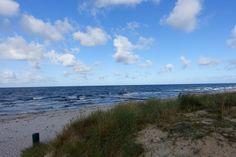 Am Strand auf Hiddensee