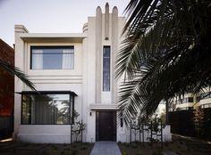 Art Deco house in Melbourne, Australia