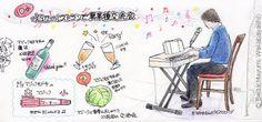 2014_06_22_party_01_s   × × Mayumi Wakabayashi 2014_06_22_party_01_s  we had a party last year.     for this drawing I used :  Faber Castell polychromos  Midori traveler's notebook     © Belta(Mayumi Wakabayashi)