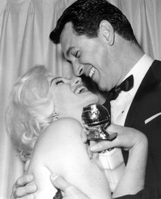 Marilyn Monroe and Rock Hudson, 1962  Love, love, love this