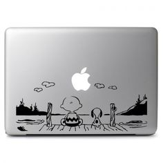 Snoopy Watch the sun Decal Sticker for Macbook Air/Pro Dell HP Laptop Notebook Mac Stickers, Mac Decals, Macbook Decal Stickers, Apple Stickers, Vinyl Decals, Macbook Hacks, Macbook Air Pro, Macbook Skin, Macbook Case