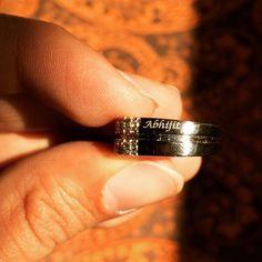 Personalised engraving done on SJ PTO 120 men's platinum ring. http://ift.tt/1K2zYGJ #jewelove #men #platinum #engagementring #weddingrings #ring #shopifypicks #bridebook #jewelleryoftheday