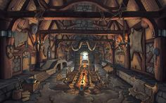 ArtStation - Everquest Next/Landmark Workshops concept Art- Architectural styles, Benoit Bernard The Effective Pictures We Offer You About Architectural Style guide A quality picture can tell you many… The Elder Scrolls, Medieval World, Medieval Fantasy, Everquest Next, Fantasy World, Fantasy Art, Viking Hall, Storm Kings Thunder, Viking House
