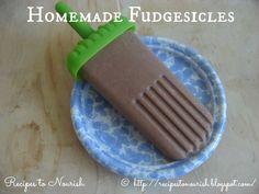 Recipes to Nourish: Homemade Fudgesicles