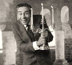 Jerry Orbach, famous for his roles as Lennie Briscoe in Law & Order and Baby's father in Dirty Dancing, provided the voice of the enchanted candelabra, Lumiere, in Beauty and the Beast.