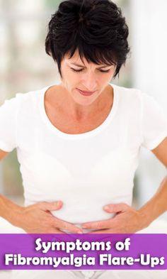 #Symptoms of #Fibromyalgia Flare-Ups