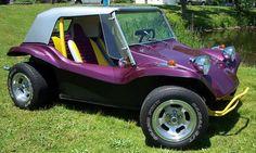 1963 VW Purple Dunebuggy---- I want one bad