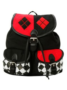 DC Comics Harley Quinn Slouch Backpack <-- Birthday wishes!!!