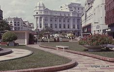 Raffles Place in the 60s - charm never goes out of style.