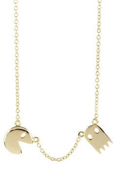 Pacman necklace - geekfully awesome!