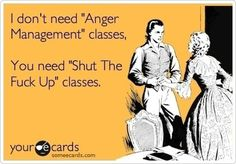 Anger management classes