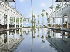 From rooftop to mountaintop, Los Angeles to the Aegean Sea, have a splash in these beautiful pools.