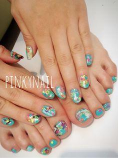 Nail Design♬の画像   ♪Pinky nail Dialy♪