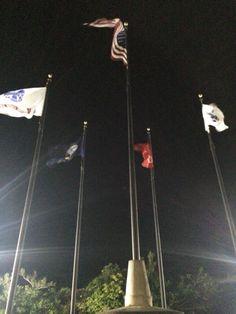 Flags, American Memorial Park, Saipan