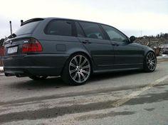 BMW E46 3 series Touring Wagon black