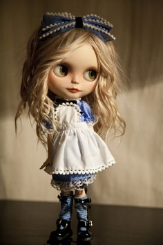 https://flic.kr/p/gdjQNr | Blythe Alice version | One more Alice ^_^