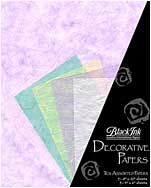 Pastels - These assorted paper packs from Thailand feature great color combinations, perfect for paper crafting, card making, book arts, collage and m...