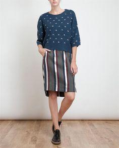 DRIES VAN NOTEN 2013FW top+skirt+shoes