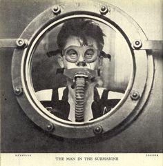 Submarine emergency training / Retronaut