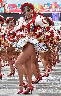 Baile de caporal. La Paz