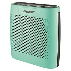 Bose portable speakers.