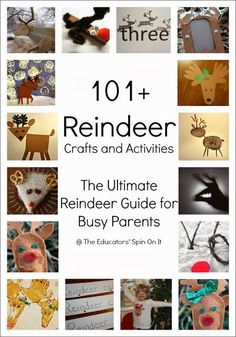 101+ Reindeer Crafts