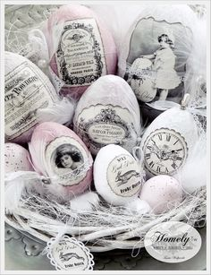 Nostalgic Easter Eggs ♥ Source: Homely-Tw