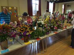 2015 Flower & Veg Show at the Village Hall, Aynho.