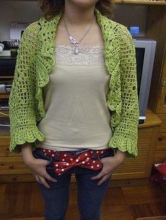 Crochet.es.un.arte!: Crochet - Chaleco Circular