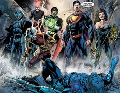Crime Syndicate by Ivan Reis