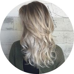My client is w flight attendant and gets to travel all over the world ! So jealous!✈️ all I did was retouch her roots to an ash light brown and toned her beautiful silver hair. Reshaped her haircut & added a soft effortless wave. #HairByLarisaLove