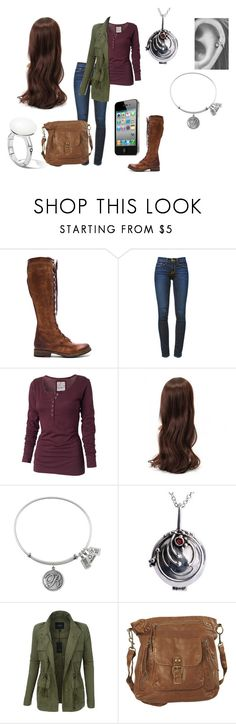 """""""Remi Gilbert #44"""" by remi-m-gilbert ❤ liked on Polyvore featuring Frye, Frame, Fat Face, LE3NO, Wet Seal and John Hardy"""
