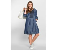 Letné šaty, sheego Casual | modino.sk #ModinoSK #modino_sk #modino_style #style #fashion #dress Jessica Alba, Sheego, Outfit, Dresses With Sleeves, Shirt Dress, Long Sleeve, Sexy, Casual, Shirts