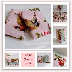 PDF Sewing Guide Passport Holder with inside by LillyBlossom