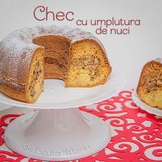 Din bucătăria mea: Chec cu umplutura de nuci Vanilla Cake, French Toast, Cooking Recipes, Sweets, Breakfast, Desserts, Food, Sweet Pastries, Tailgate Desserts