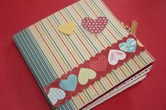 Cartão Mini-Scrap Com Foto Dia dos Namorados