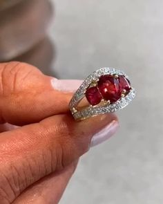 Another beauty in-store now.  Red spinel and diamonds.  #36years #brinkhausjewellers #celebrate #diamondring #redspinelring ing #statementring #ring #ringsofinstagram #ringlight #rubyring #christmasgiftsideas #forher #claremontchristmas #christmasinclaremont #claremontjeweller #claremontjewellery #christmas2019 #finering #finejewellery #finejewelry #handcraftedjewellery #handcraftedjewelry #love #jewellerysale #jewelrysale #yespleasesanta #diamonds #colouredstones #colouredstonejewellery Stone Earrings, Stone Bracelet, Stone Necklace, Stone Jewelry, Coloured Stone Rings, Red Spinel, Statement Rings, Handcrafted Jewelry, Heart Ring