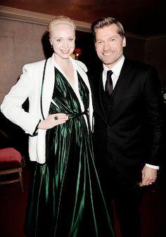 Gwendoline and Nikolaj @ Season 5 premiere after party