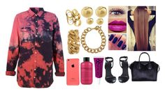 """""""Untitled #827"""" by lovelyxox ❤ liked on Polyvore featuring Givenchy, Obsessive Compulsive Cosmetics, philosophy, Yves Saint Laurent, Michael Kors, MAC Cosmetics and Alexander Wang"""