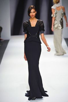 Loving this gown from Bibhu Mohapatra Fall 2013